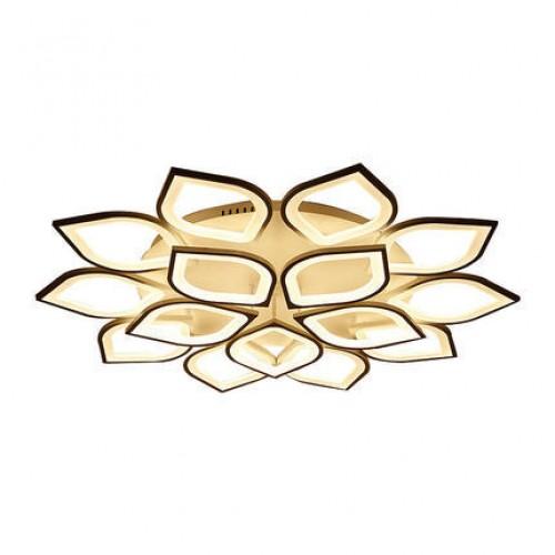 LED-Deckenleuchte in Blütenblattform, einfache und moderne Deckenleuchte im Wohnzimmer, kreative Persönlichkeitskunst, Blumenform im Hauptschlafzimmer, elegante Geschmackslampe