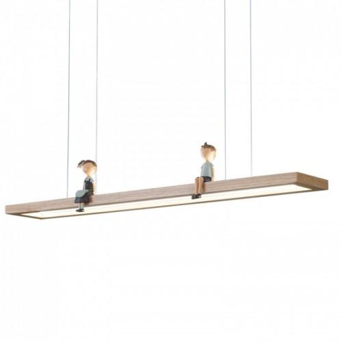 Esszimmer Kronleuchter, nordischer kreativer moderner minimalistischer Stil, Haushaltslicht Luxus, lange Esszimmer Bar Lampen (ohne Puppen)
