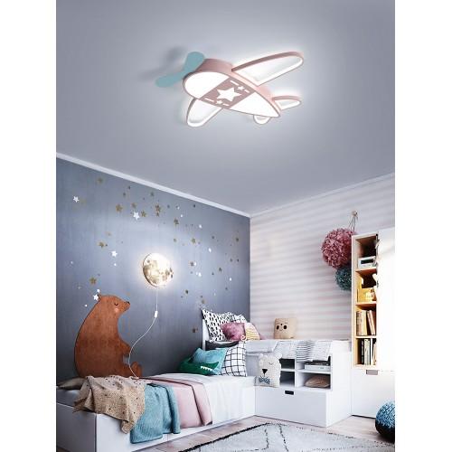 Kinderzimmer Deckenleuchte, LED Augenschutz Schlafzimmer Licht, Jungen kreative Flugzeug Licht, Mädchen Cartoon Zimmer Augenschutz Lampe
