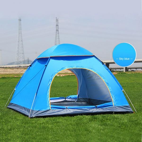 Outdoor Camping Faltzelt Automatik Strandzelt einfache Geschwindigkeit offen