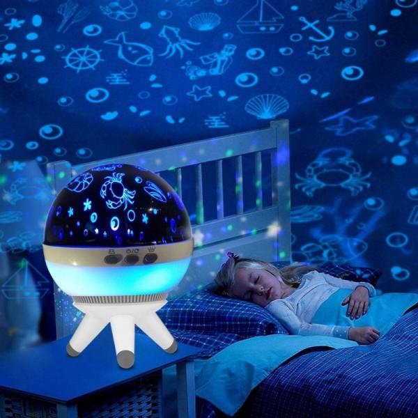Nachtlichter für Kinder - Nachtlichtlampe - LED Projektorlampe - Haushaltsleuchten - Dekorative Beleuchtung