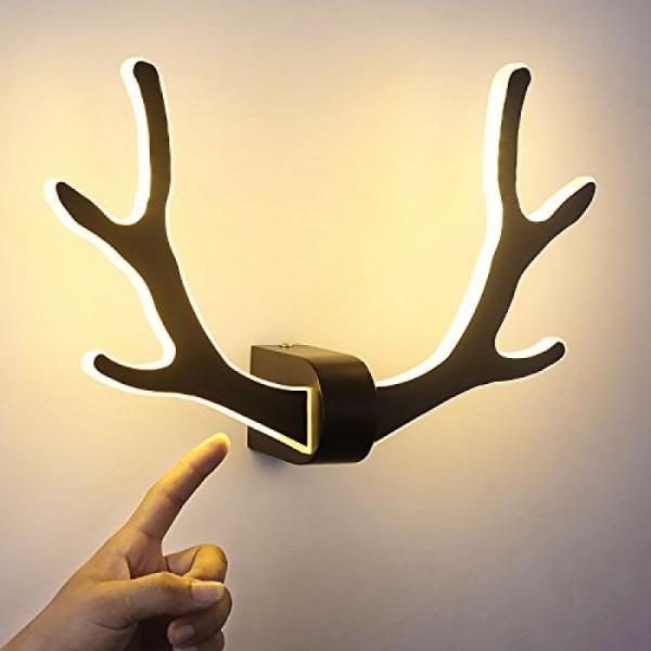 Geweih Wandlampe - einfache Kinder Wandleuchte - Nachttischlampe - Wohnzimmer - Bar Cafe Wandlampe