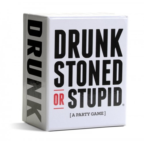 Drunk Stoned or Stupid 50 Trinkspielkarten - Drinking Games for People Who Never Drink