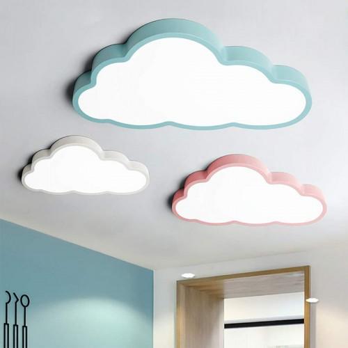 Deckenleuchte LED ultradünne 5 cm Kreative Wolken Deckenlampe Kinderzimmer Deckenleuchte Jungen Und Mädchen Schlafzimmer Lampe Einfache Cartoo
