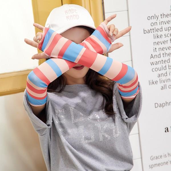 Arm-Ärmel,Arm-Wärmer UV-Sonnenschutz Anti-Rutsch für Frauen Youth für Radsport Wandern 1 Paar, MEHRWEG