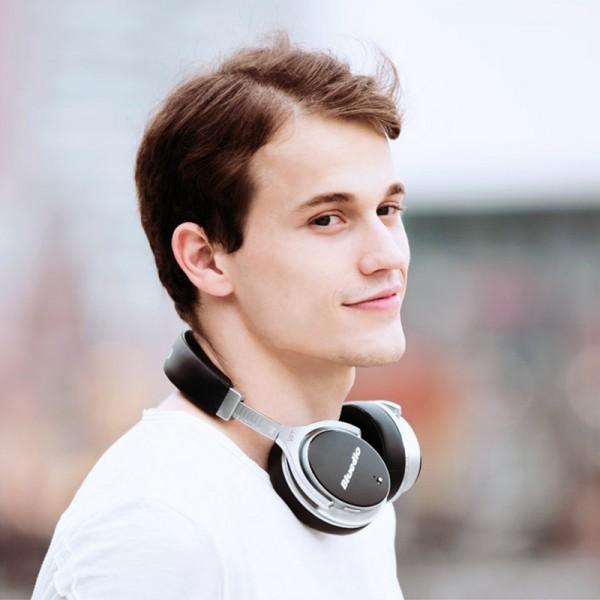 Bluedio F2 (Faith) Bluetooth Kopfhörer Aktive Noise Cancelling Kopfhörer drehbare Ohrpolster mit Mikrofon