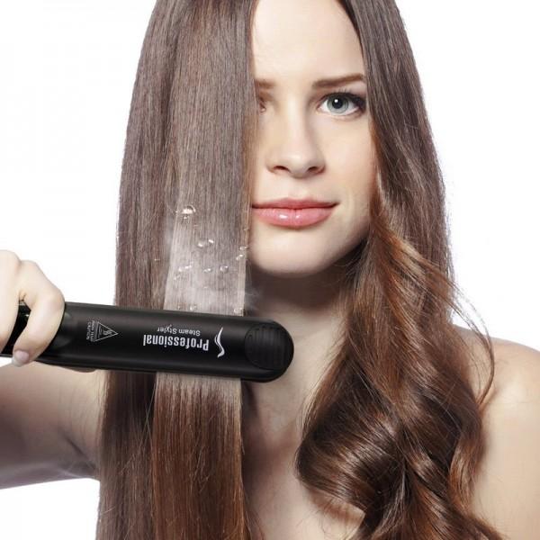 Öl Dampf Glätteisen Haarglätter CHJPro Keramik Dampfhaarglätter(Nicht enthalten Arganöl)
