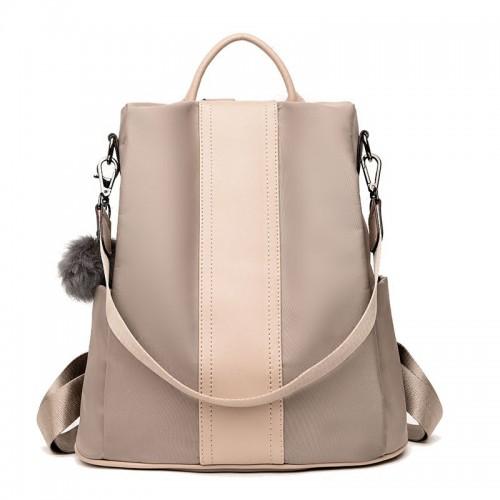 loikee Rucksack Frauen Rucksack Taschen Umhängetaschen in Nylon Mode Rucksack mit Schultergurt Lässige Daypack Handtaschen Rucksack Daypack für die Schule Work Trip